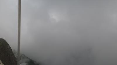 Vue webcam de jour à partir de Mount Pilatus: Pilatus Kulm − Bürgenstock − Lucerne − Lake of Lucerne − Rigi Kulm