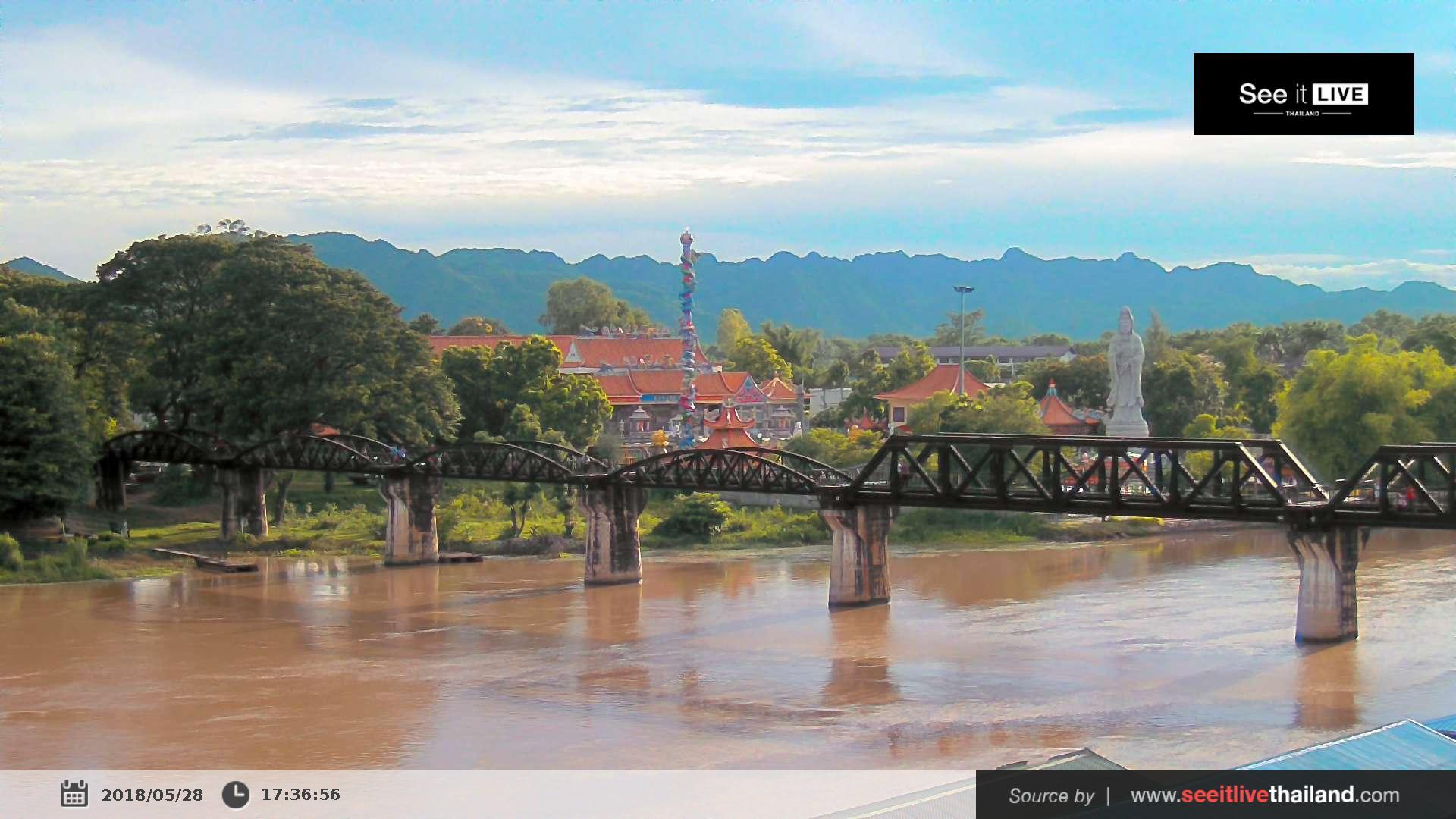 Webcam บ้านพฤกษากาญณ์: The Bridge of The River Kwai