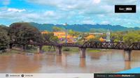 Tha Muang: The Bridge of The River Kwai - Day time