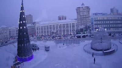 Webcam Yakutsk › North-East: Sakha teatra