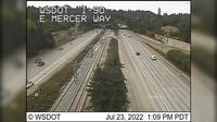 Mercer Island: I- at MP .: E Mercer Way - Overdag