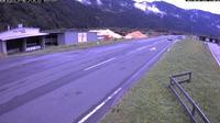 Sachsenburg: B  Drautal Stra�e, km , bei Festungsbergtunnel - Dia
