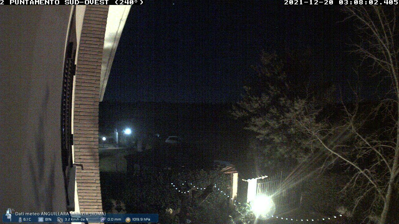 Webcam Anguillara › West