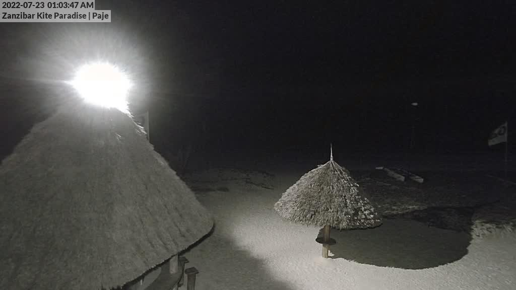 Webkamera Paje: Zanzibar Kite Paradise - Kitesurf Center