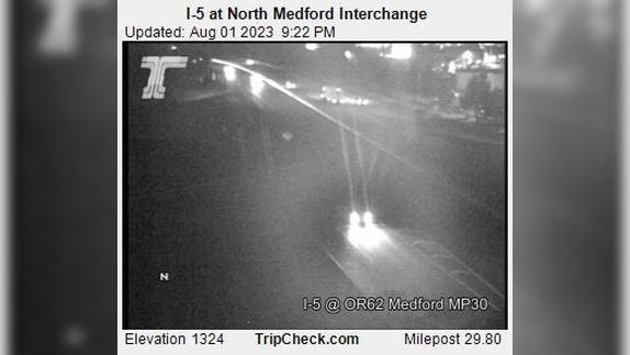 Webcam Medford: I-5 at North − Interchange