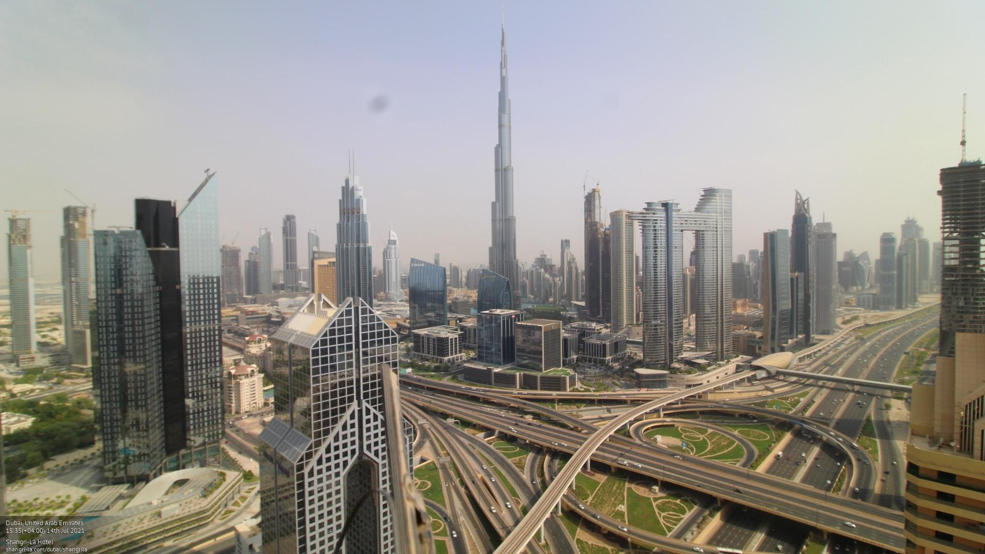 Webcam Dubai International Financial Centre: Shangri-La H