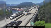 Vancouver > North: , Ironworkers Memorial Bridge, south end, looking north - Actuales