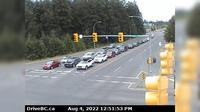 Courtenay › North: Intersection of Ryan Rd and Lerwick Rd in - looking north - Day time
