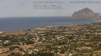 Valderice: Vista su Monte Cofano - Overdag