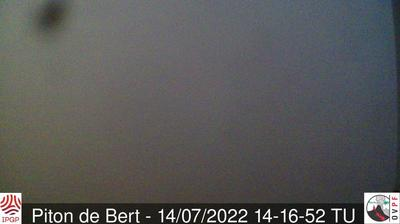 Current or last view from Saint Philippe › North East: Piton de la Fournaise
