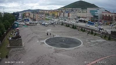 Петропавловск-Камчатский: Musical fountain