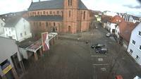 Rodgau: Platz vor dem Rathaus in - Jügesheim - Recent