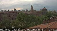 Milan: Castello Sforzesco - Recent