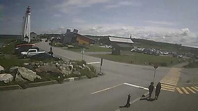 Vue webcam de jour à partir de Rimouski: Pointe au Père