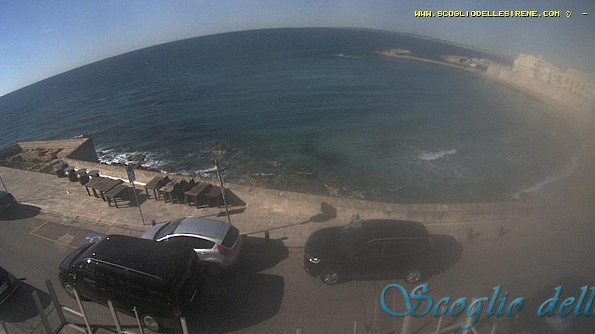 Webcam Gallipoli: Spiaggia della purità