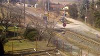 Mnisek pod Brdy: Železniční Stanice - Overdag