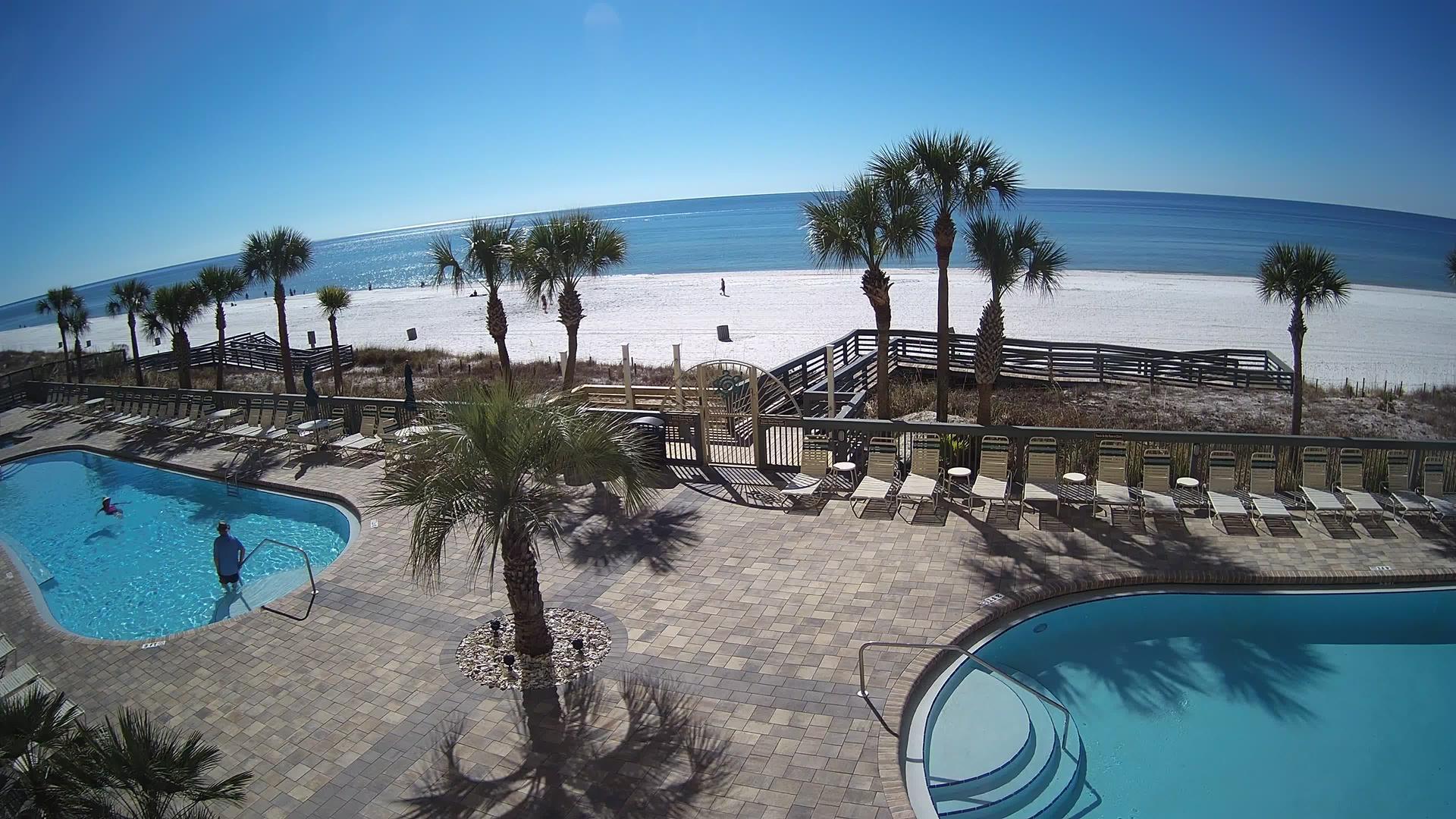 Webcam Panama City Beach: Gulf Crest Condominiums