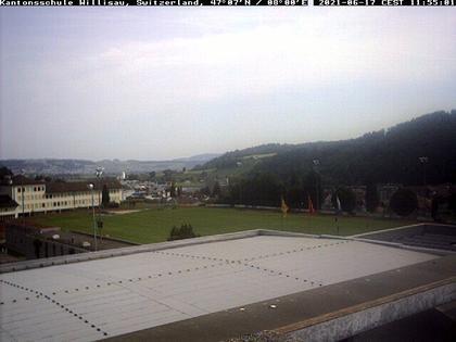 Willisau › Norden: Sicht vom Dach der Kantonsschule