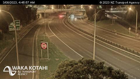 Webkamera Wellington › North: SH1 Tinakori Rd On-ramp