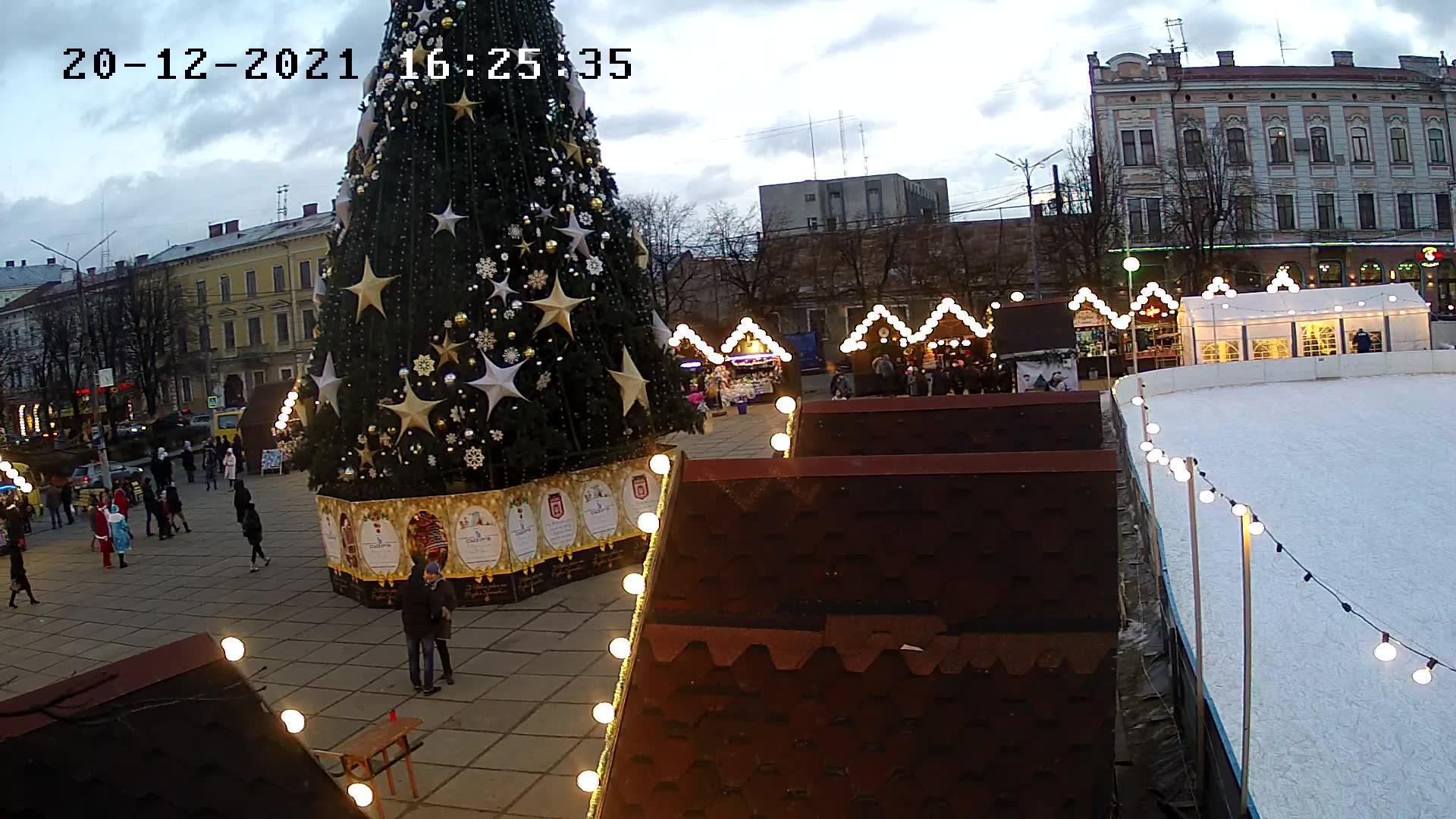 Webcam Chernivtsi: Soborna Square