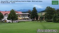 Hellengerst: Hanusel Hof - Golf und Wellness Hotel im Allg�u - Blick nach Osten - Recent