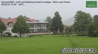 Hellengerst: Hanusel Hof - Golf und Wellness Hotel im Allg�u - Blick nach Osten - Overdag