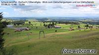 Eschach: Schw�rzenlifte - Oberallg�u - Blick zum Gletschergumpen und zur Gletscheralp - Dagtid