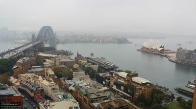 Daylight webcam view from Sydney: Quay West Suites