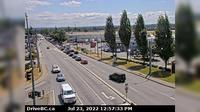 City of Langley > North-East: Hwy  at Fraser Hwy in Langley, looking northwest - Jour
