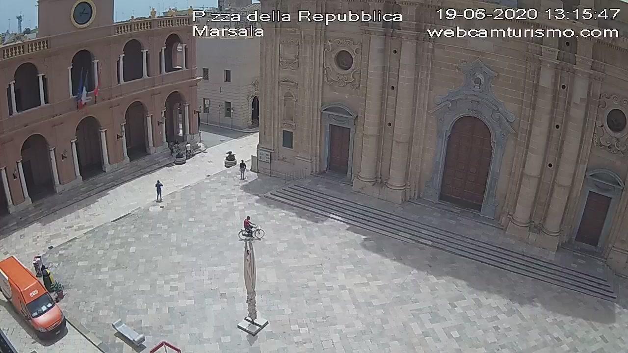 Webcam Marsala: Piazza della Repubblica