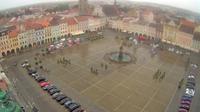 České Budějovice › North-East: Náměstí Přemysla Otakara II. - El día