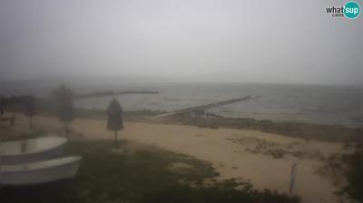 Pakostane: Vrana lake, ornithological reserve - camp Crkvine