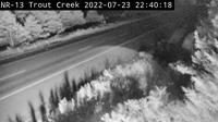 Powassan: Highway  near Trout Creek - Recent