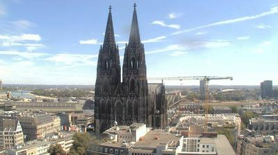 Daylight webcam view from Cologne: Cologne Cathedral
