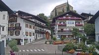 Schenna - Scena: S�dtirol Webcam - Dorfzentrum - Aktuell