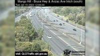 North Lakes: Mango Hill - Bruce Highway and Anzac Ave (looking South) - Day time