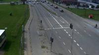 Aalborg: Hobrovej Ecke Nibevej, Richtung Süd - Dia