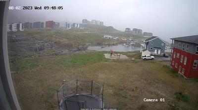 Vista actual o última desde Nuuk: Pupik