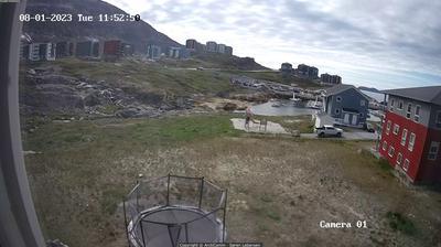 Vista de cámara web de luz diurna desde Nuuk: Pupik