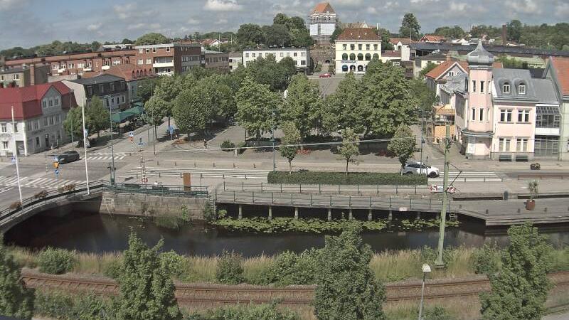 Webcam Ronneby › North: torg
