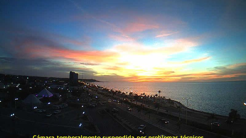 webcam Campeche: San Francisco de − Panorámica