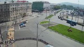 Webcam Novokuznetsk: Привокзальная площадь