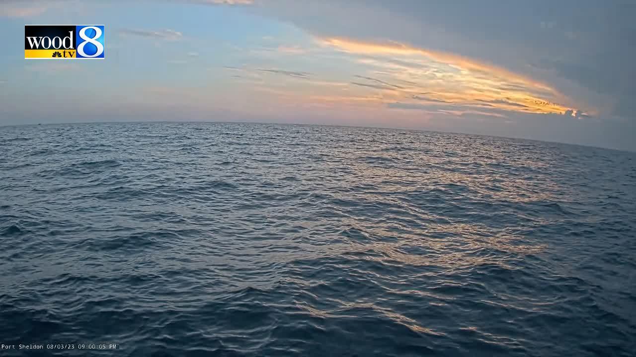Webcam Port Sheldon: Lake Michigan