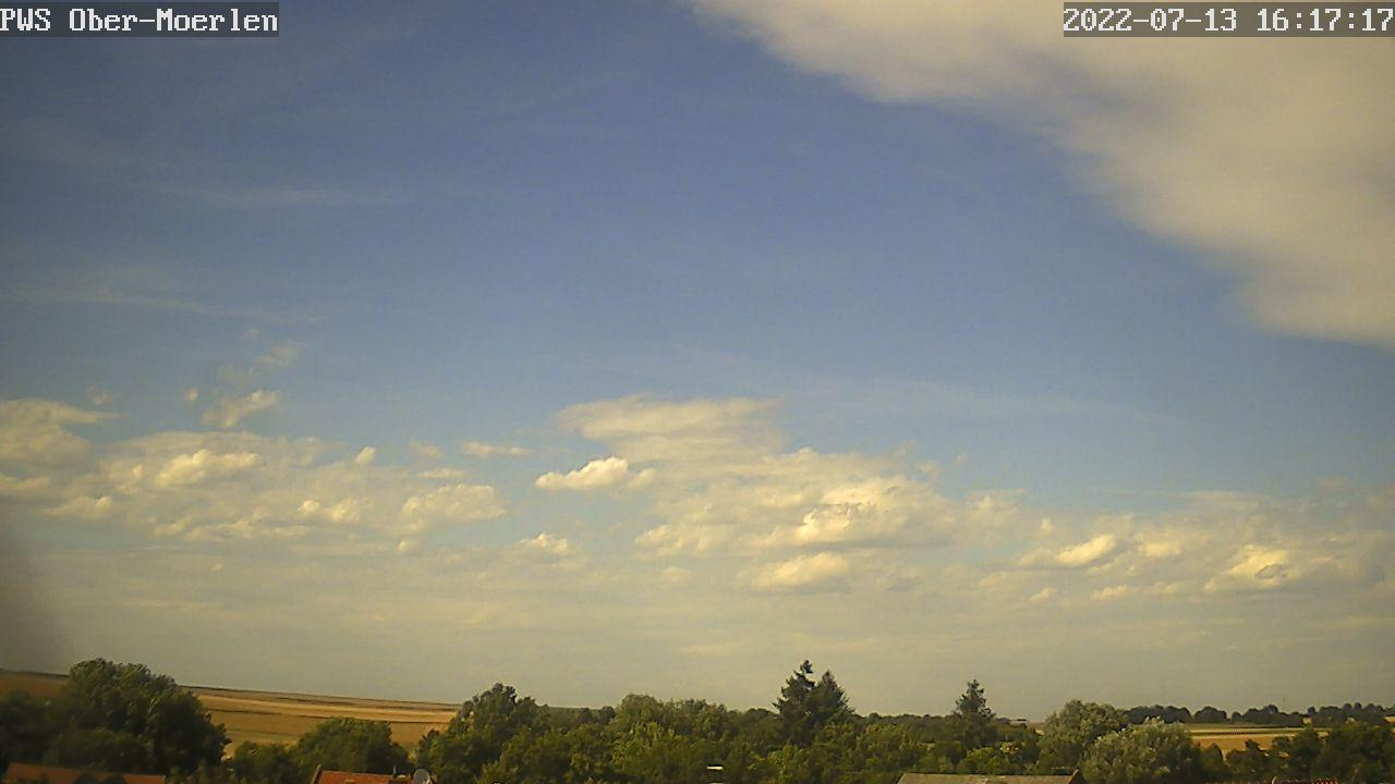 Webcam Ober-Mörlen: Aufnahmerichtung Nordost