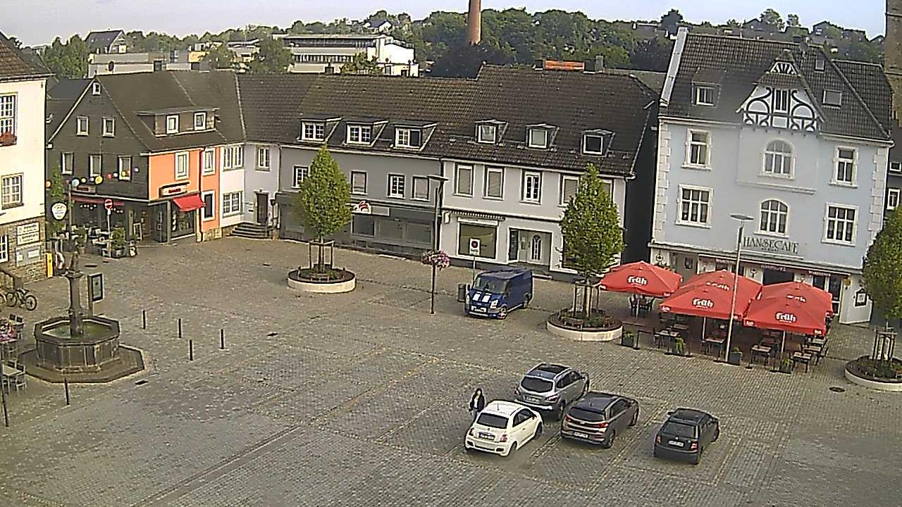 Webkamera Wipperfürth › East: Marktplatz