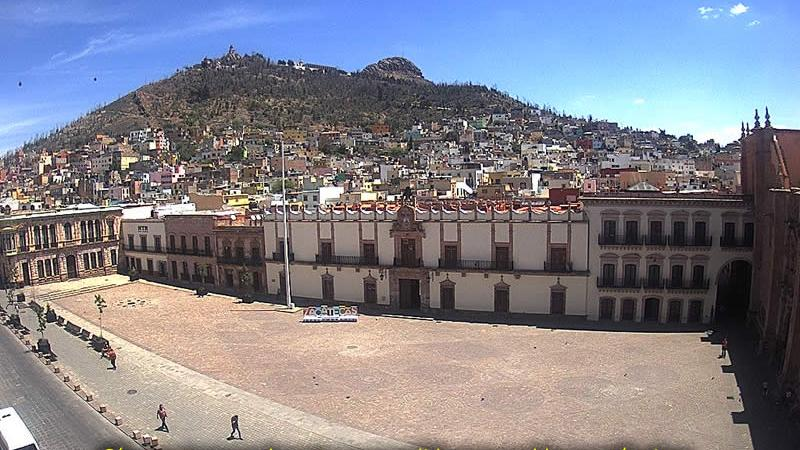 Webkamera Zacatecas City › North-East: Zacatecas