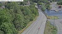 Staket: St�ketbron v�st (Kameran �r placerad p� v�g  Enk�pingsv�gen (Upplands-Bro kommun) i h�jd med St�ketbron och �r riktad mot Stockholm - Day time