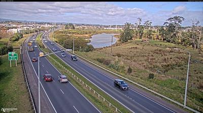 Vue webcam de jour à partir de Drury › South: SH1 Slippery Creek