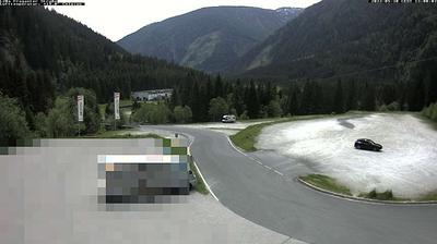 Vista actual o última desde Mölltaler Gletscher: L20a Fraganter Straße − Moelltaler Gletscherbahn