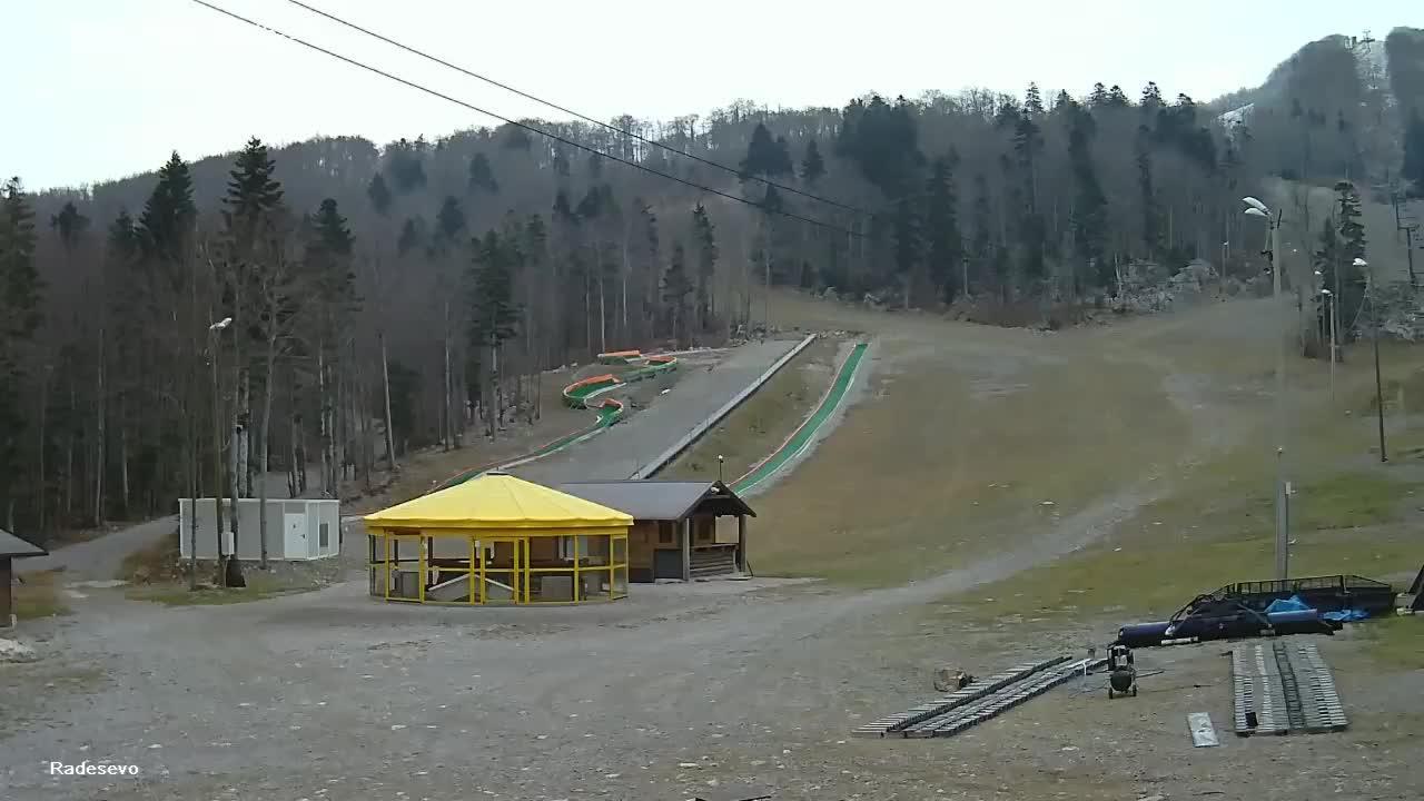 Webkamera Platak: Skijaliste Radesevo